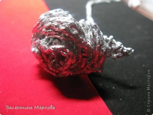 Как сделать розу из фольги поэтапно