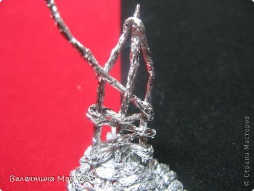 Мастер-класс Поделка изделие Плетение Роза из фольги мастер-класс Фольга фото 20