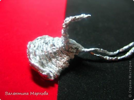 Мастер-класс Поделка изделие Плетение Роза из фольги мастер-класс Фольга фото 22
