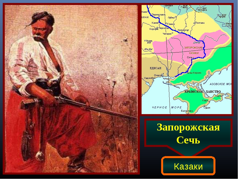 Запорожская Сечь Казаки