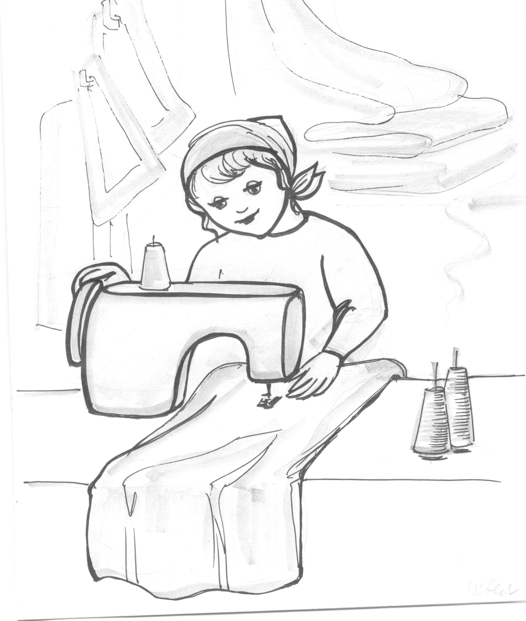 Нарисовать рисунок профессий