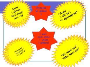 Қазақ халқының ауыз әдебиеті Тойға арналған өлеңдер Жар-жар,бет ашар, сыңсу Д