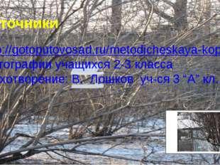 Источники http://gotoputovosad.ru/metodicheskaya-kopilka/news10.html фотограф