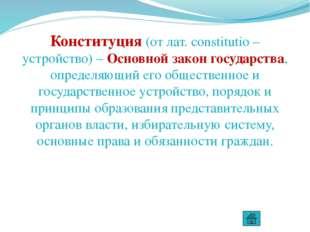 Нормы, закрепленные в конституции Взаимоотношение граждан и государства Права