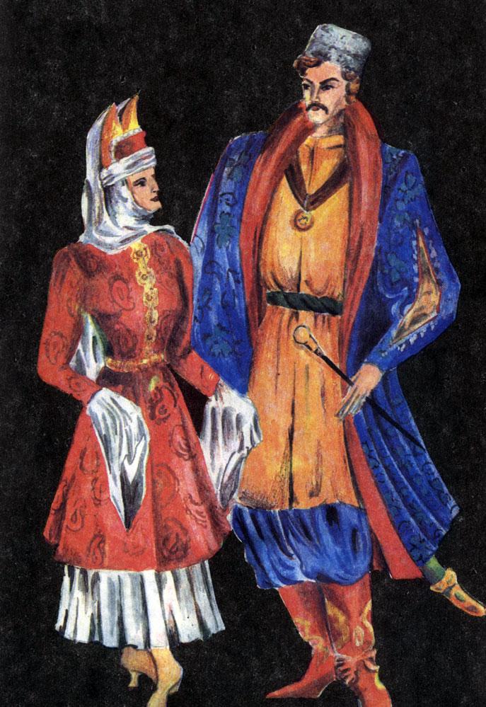 Казачий костюм. XVIII в