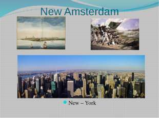 New Amsterdam New – York