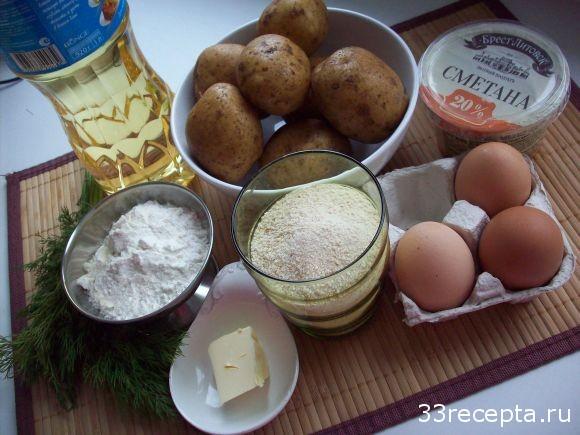 продукты для крокетов