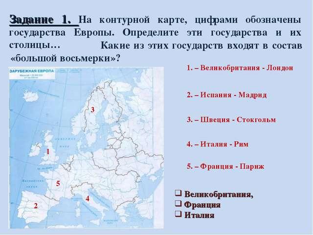 Гдз карта зарубежной европы 11 класс