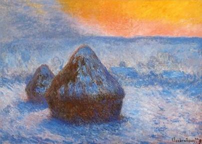 C:\Documents and Settings\Оля\Рабочий стол\картины им\стог сена в лучах восходящего солнца, выпал снег 1890-1891г..jpg