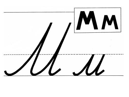 первый урок письма в 1 классе знакомство с прописью горецкий