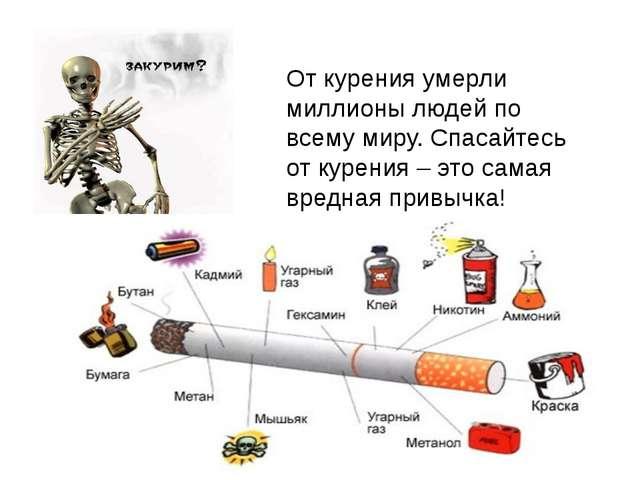 От курения умерли миллионы людей по всему миру. Спасайтесь от курения – это с...