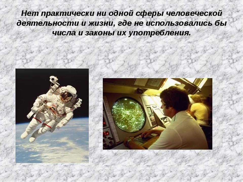 Нет практически ни одной сферы человеческой деятельности и жизни, где не испо...