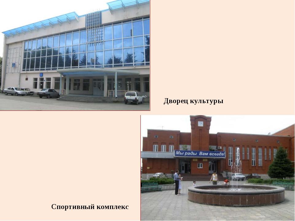 Дворец культуры Спортивный комплекс