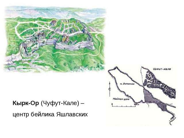 Кырк-Ор (Чуфут-Кале) – центр бейлика Яшлавских