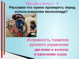 Профессионал 2 В парке, во дворе, на стадионе Где можно кататься на велосипе