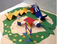 поделки из бумаги для дошкольников