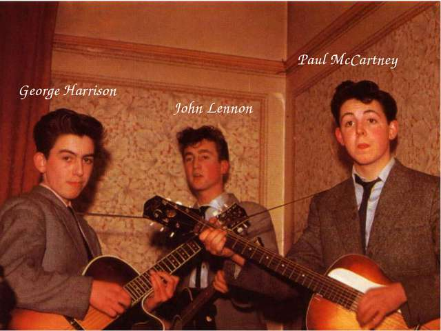 John Lennon Paul McCartney George Harrison