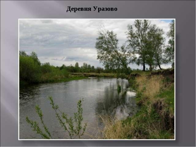 Деревня Уразово