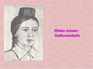 Мать поэта - Бибимамдуда