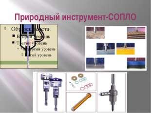 Природный инструмент-СОПЛО