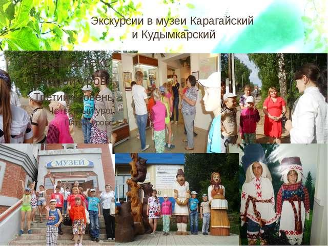 Экскурсии в музеи Карагайский и Кудымкарский