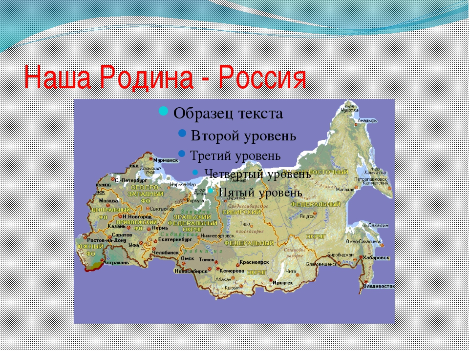Наша Родина - Россия слайд1