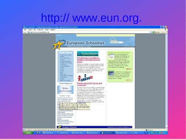 http:// www.eun.org.