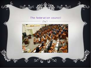 The federation council