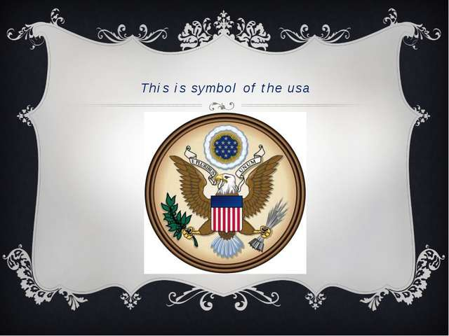This is symbol of the usa