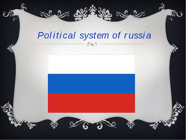 Political system of russia