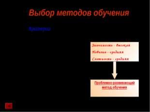 Анализ содержания материала с позиций значимости темы в общей системе знаний