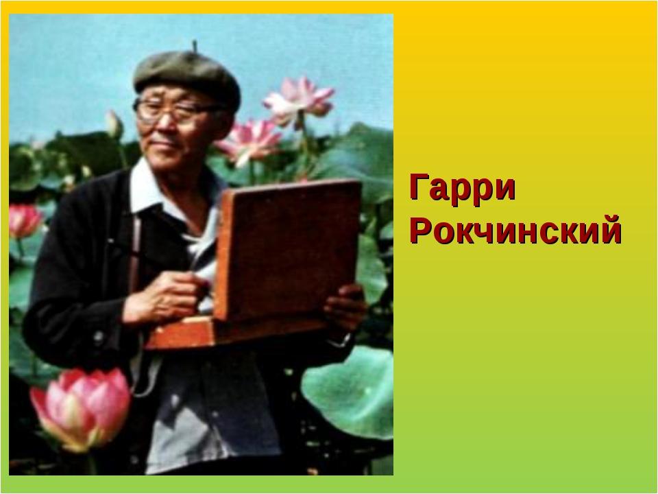 Гарри Рокчинский