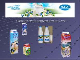 Лидер рынка молочных продуктов компания «Эмиль»