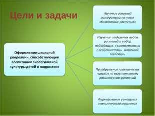 Цели и задачи