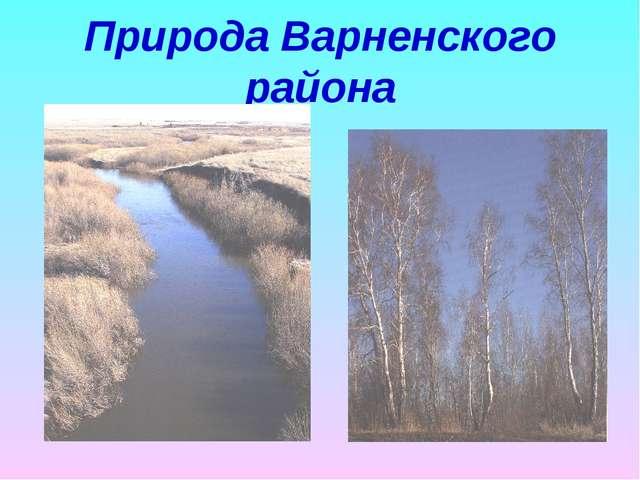 Природа Варненского района
