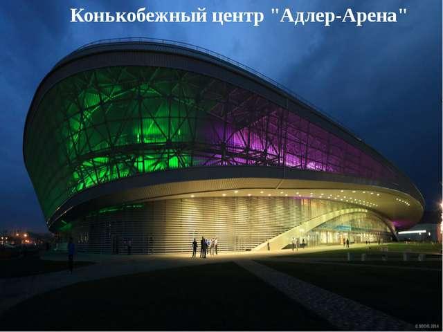 "Конькобежный центр ""Адлер-Арена"""