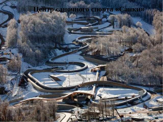 Центр саночного спорта «Санки»
