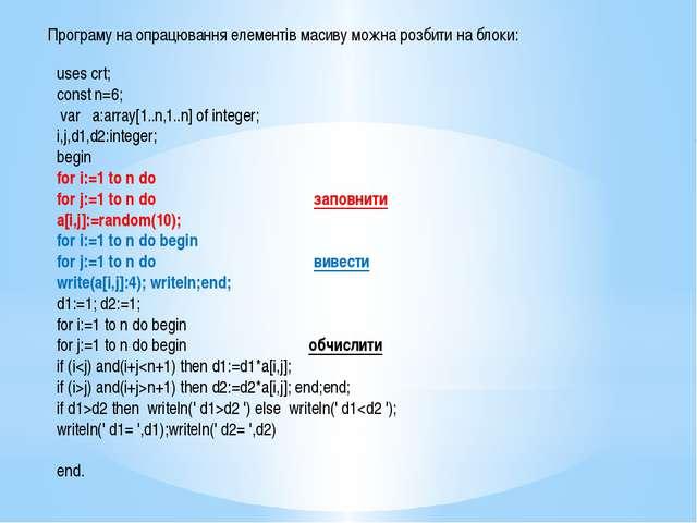 Процедура без параметрів Виклик процедури без параметрів здійснюється за наз...