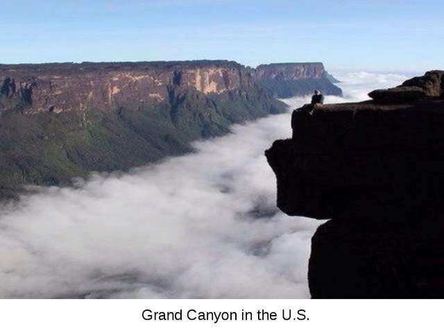 Grand Canyon in the U.S.