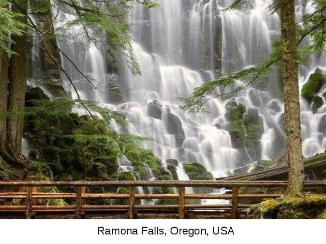 Ramona Falls, Oregon, USA