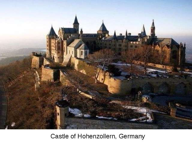 Castle of Hohenzollern, Germany