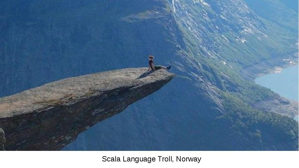 Scala Language Troll, Norway