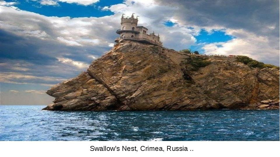 Swallow's Nest, Crimea, Russia ..