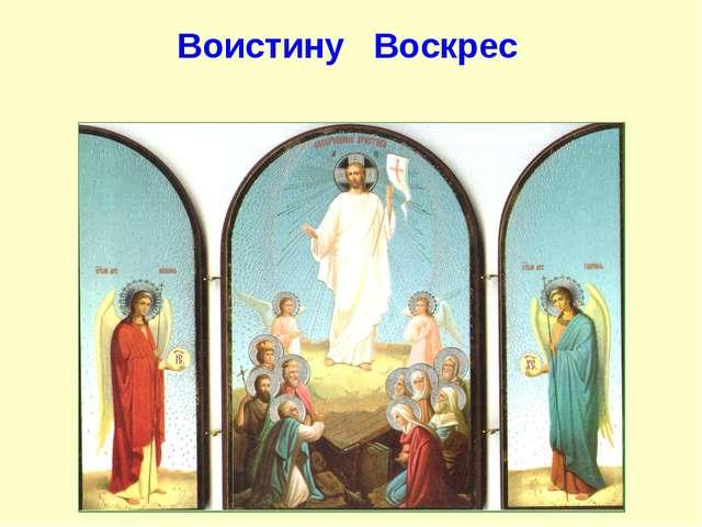 Воистину Воскрес