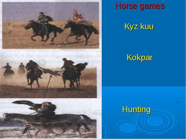 Horse games Kyz kuu Kokpar Hunting