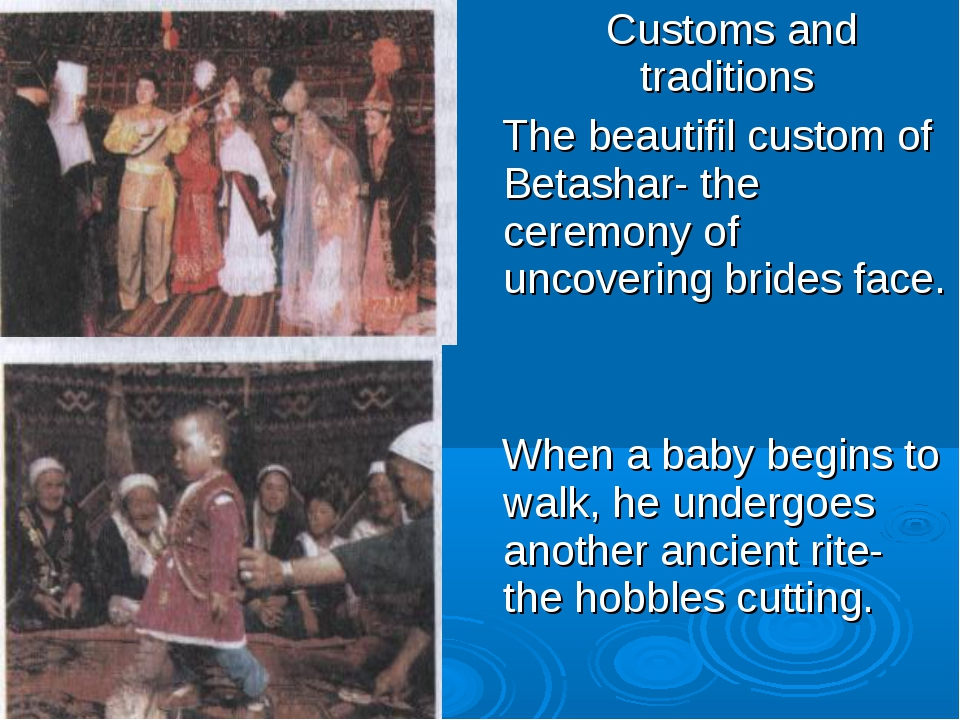 Customs and traditions The beautifil custom of Betashar- the ceremony of unc...