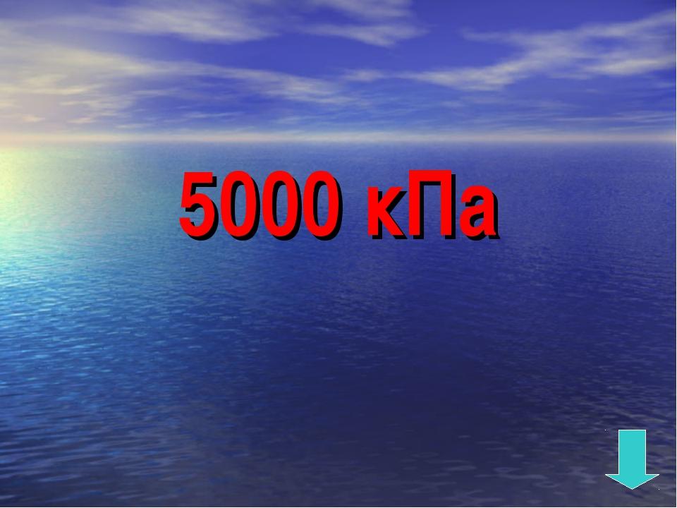 5000 кПа