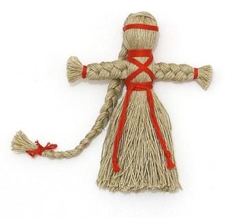 Кукла из ниток - Куклы