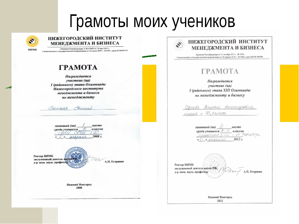 Участие в НОУ    Уровень ФИО Класс Результат Районный уровень 2009 Абаимов...