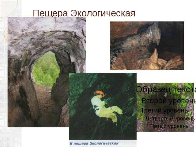 Пещера Экологическая